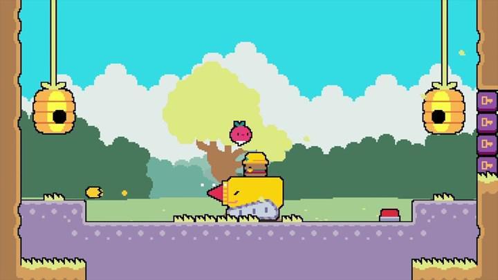 Platform oyunu Dadish 2, mobil cihazlar için ücretsiz bir şekilde yayınlandı