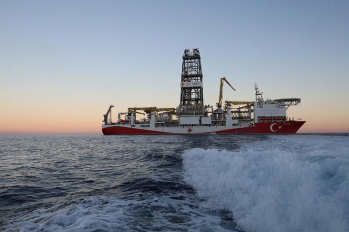 Fatih sondaj gemisi yeni sondaj bölgesine ulaştı