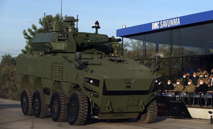 BMC'nin ürettiği askeri araçlara yerli motorlar entegre edilmeye başlandı