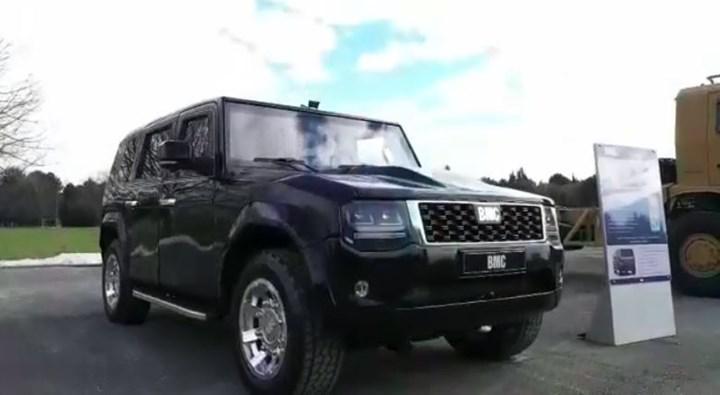 BMC'nin zırhlı SUV modeli Tulga'nın sürüş testlerine ilişkin kısa bir video paylaşıldı