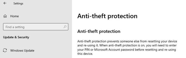 Windows 10X hırsızlığa karşı koruma özelliği sunacak