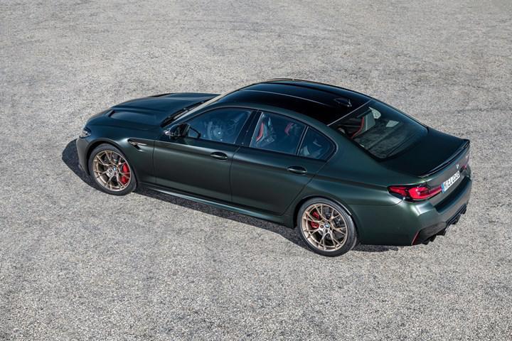 635 beygirlik BMW M5 CS tanıtıldı