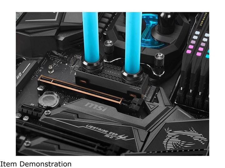 Corsair'in sıvı soğutmalı SSD'si MP600 Pro HydroX görüntülendi, fiyatları listelendi