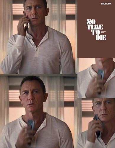 No Time to Die'ın, Nokia yüzünden ertelendiği söyleniyor; film tekrar çekilebilir