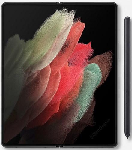 Samsung Galaxy Z Fold 3'ün tasarımı ortaya çıktı