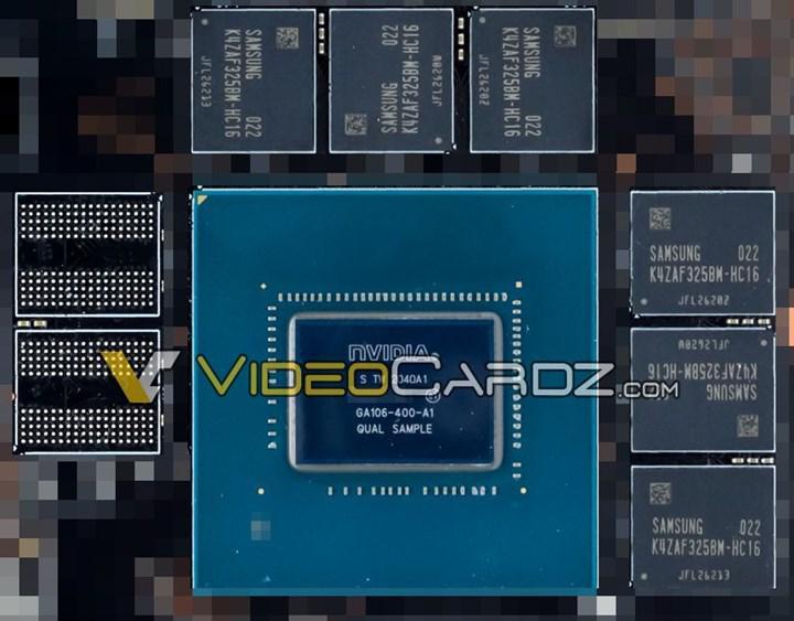 Tanıtımdan önce RTX 3060'ta kullanılması beklenen Nvidia GA106-400 görüntülendi