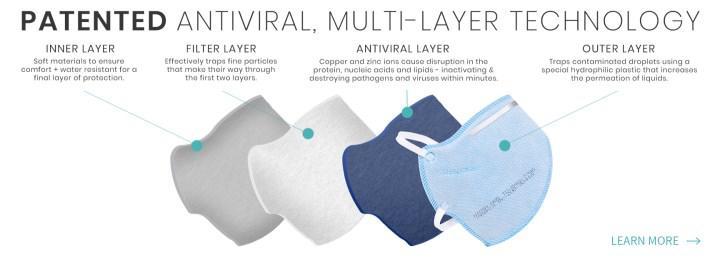 Koronavirüs partiküllerini yok eden maske geliştirildi