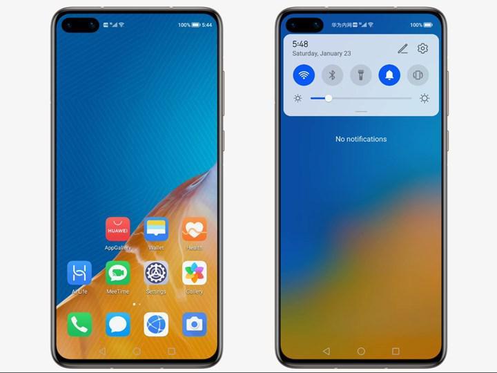 Huawei'nin Harmony işletim sistemi, Android'in kopyası çıktı