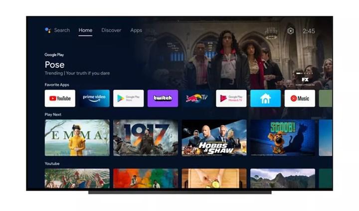 Google, Android TV'nin arayüzünü yeniledi: İşte görüntüleri