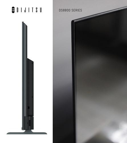 Dijitsu'dan 50 inç, ince kenarlı, Ultra HD Android TV