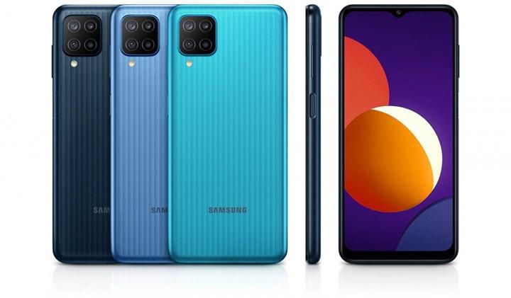 Samsung, 6.000mAh bataryalı Galaxy M12'yi piyasaya sürdü