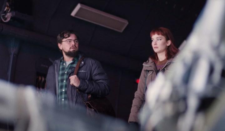 Leonardo DiCaprio'nun başrolünde olduğu Netflix filmi Don't Look Up'tan set görselleri paylaşıldı