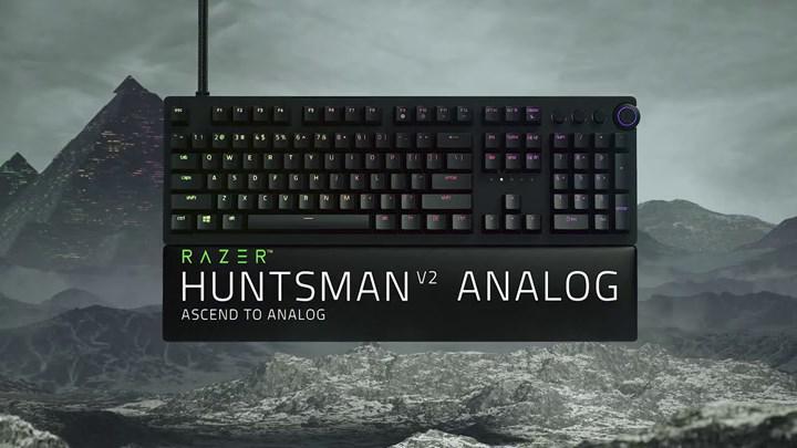 Razer Huntsman V2 analog klavye oyun dünyasını değiştirmeye geliyor