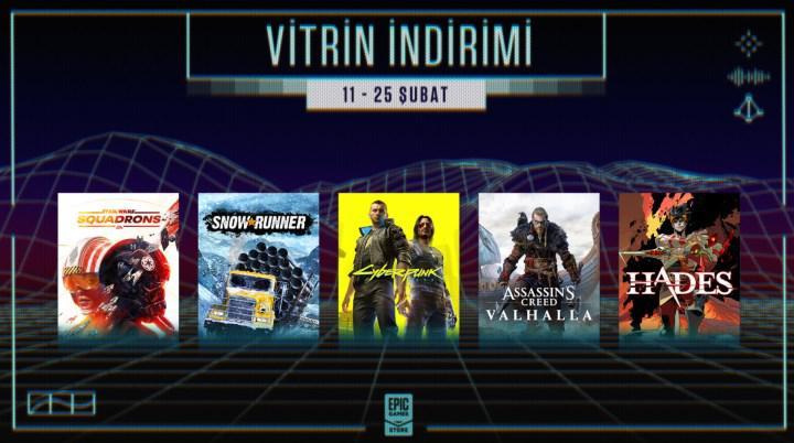 İndirimlerin ve yeni oyun duyurularının olacağı Epic Games etkinliği duyuruldu! 11 Şubat'ta başlıyor