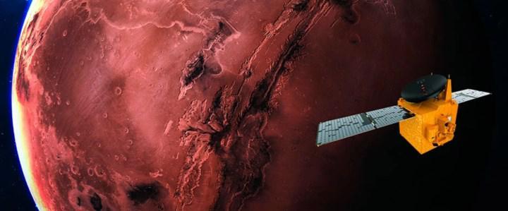 BAE'de nefesler tutuldu: 'Umut' sondası yarın Mars'a ulaşıyor