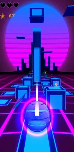 1980 temalı sonsuz koşu oyunu Mesh Dash, Android için yayınlandı