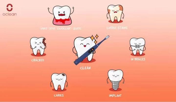 Oclean X Pro akıllı diş fırçası Sevgililer Günü için geliyor