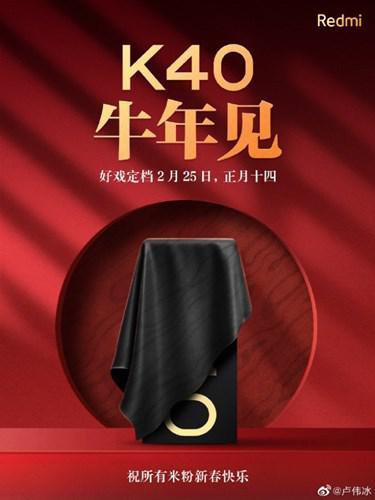Snapdragon 888'li Redmi K40'ın tanıtım tarihi resmileşti