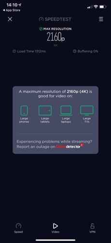 Speedtest'e yeni özellik geldi: Video test