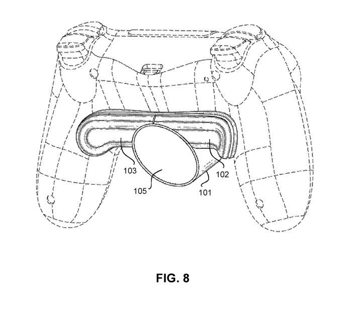 Sony'nin yeni patentine göre PS5 kontrolcüsüne bir arka tuş eklentisi geliyor