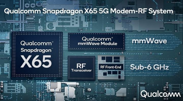 Snapdragon X65 5G modem ilk kez 10Gbps hızlarını getiriyor