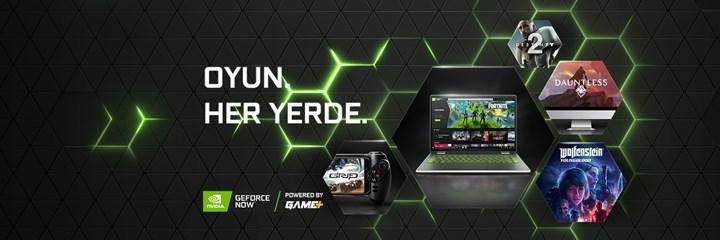 GeForce Now powered by GAME+ platformunun lansman tarihi açıklandı