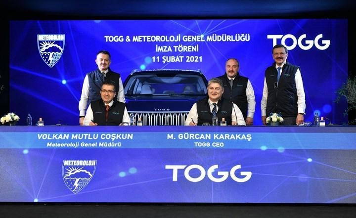 TOGG ve Meteoroloji Genel Müdürlüğü arasında anlaşma imzalandı
