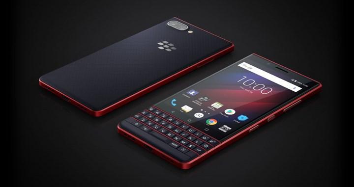 BlackBerry'nin ilk 5G özellikli akıllı telefonu bu yıl çıkacak