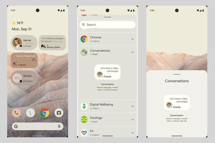Android 12'nin yüksek çözünürlüklü duvar kağıtları yayınlandı