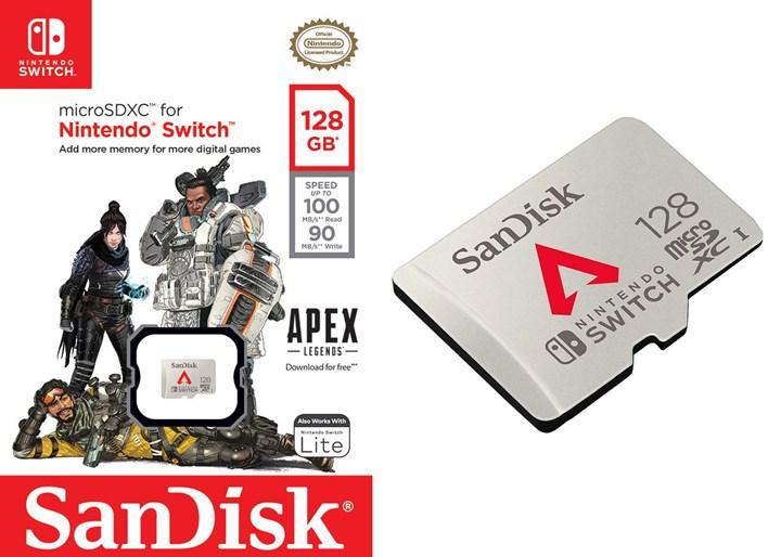 Nintendo Switch için SanDisk Apex Legends hafıza kartları duyuruldu