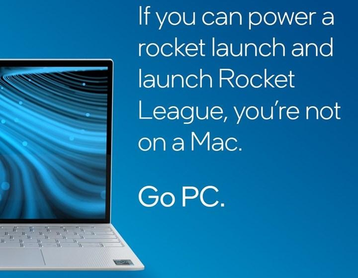 Intel'in Apple M1 dokundurmaları devam ediyor