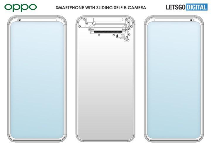 Oppo, kayan selfie kamerası için patent aldı