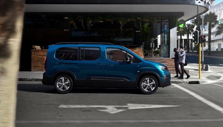 Peugeot Rifter'ın elektrikli versiyonu e-Rifter tanıtıldı