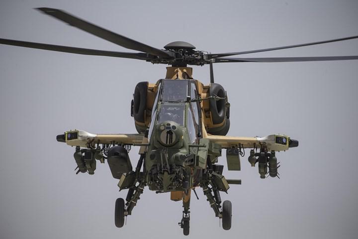 T129 Atak Faz-2 helikopterin ilk teslimatı yapıldı