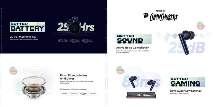 Realme Buds Air 2 özellikleri belli oldu