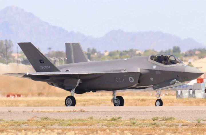 Turkey moved to the right in the F-35 program