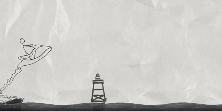 El çizimi görselliğe sahip macera oyunu Doodle Dash, mobil cihazlar için yayınlandı