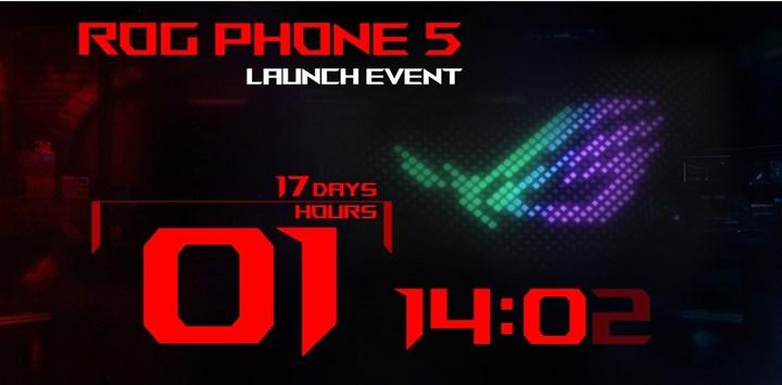 The launch date of the Asus ROG Phone 5 has been announced: it will come with a 6,000 mAh battery and Snapdragon 888