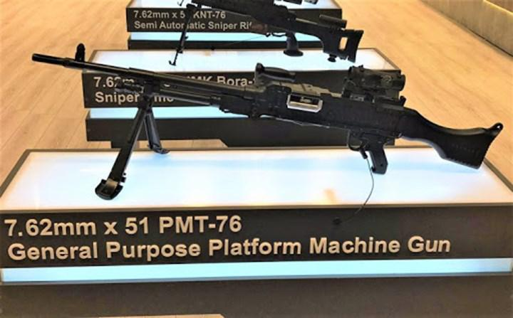 External dependency ends with SARSILMAZ production SAR 240 PMT 7.62 project