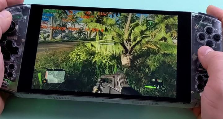 Ryzen APUlu el konsolu Crysis açıyor