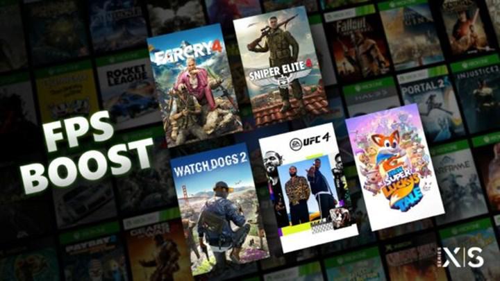 Xbox Series X/S'in, FPS'i ikiye katlayan FPS Boost özelliği her oyunda bulunmayacak