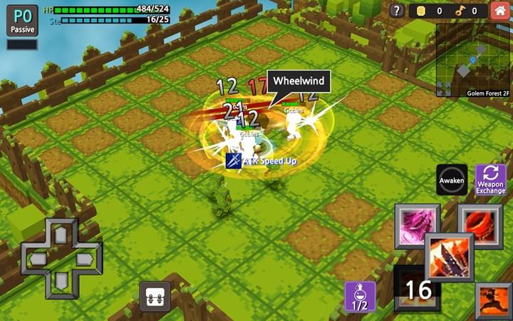 The role-playing game Hero Craft released free for mobile