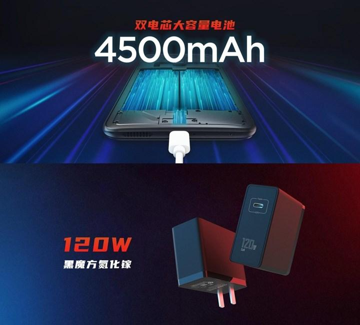 Red Magic 6 Pro can be charged from 0% to 50% in five minutes