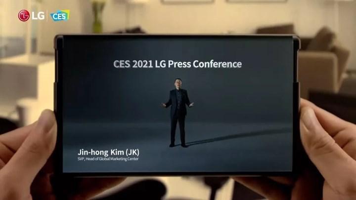 LG genişleyebilir ekranlı telefonunu iptal ediyor