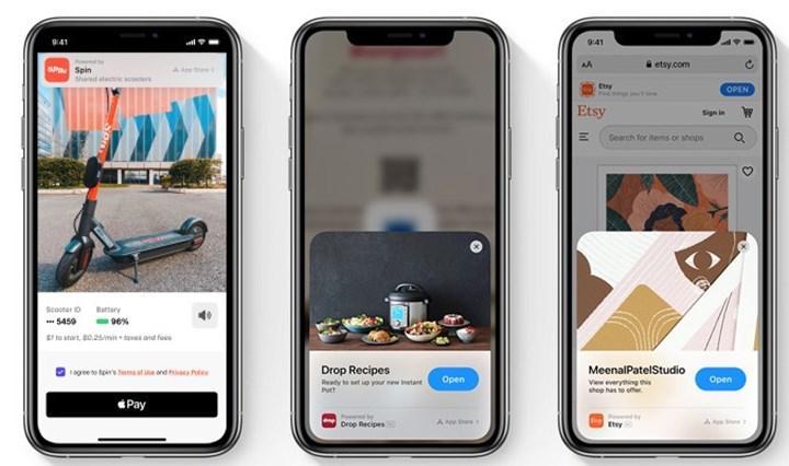 iOS 14 App Clips verileri geliştiricilerin erişimine açılıyor