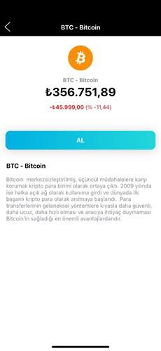 BTC and crypto money era has begun in Turkcell