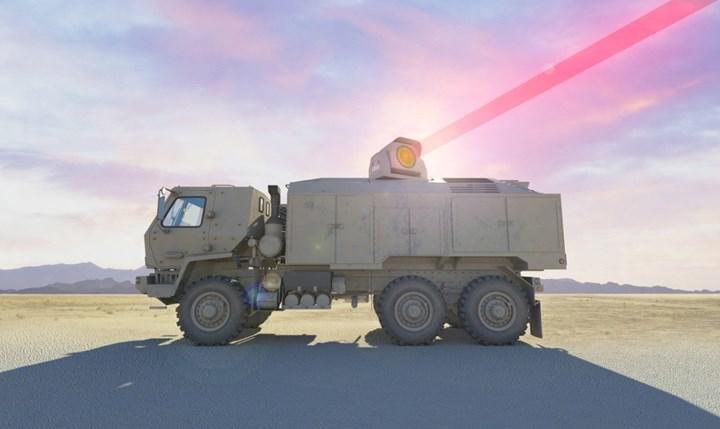 """ABD ordusu, """"dünyanın en güçlü"""" lazer silahı olacağı iddia edilen bir platform üzerinde çalışıyor"""