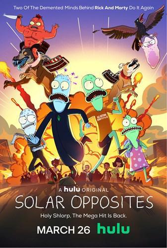 Rick and Morty yaratıcılarının yeni dizisi Solar Opposites'in 2. sezon fragmanı yayınlandı