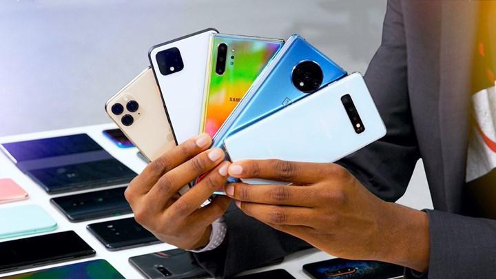 2020'nin en çok satan akıllı telefonları belli oldu