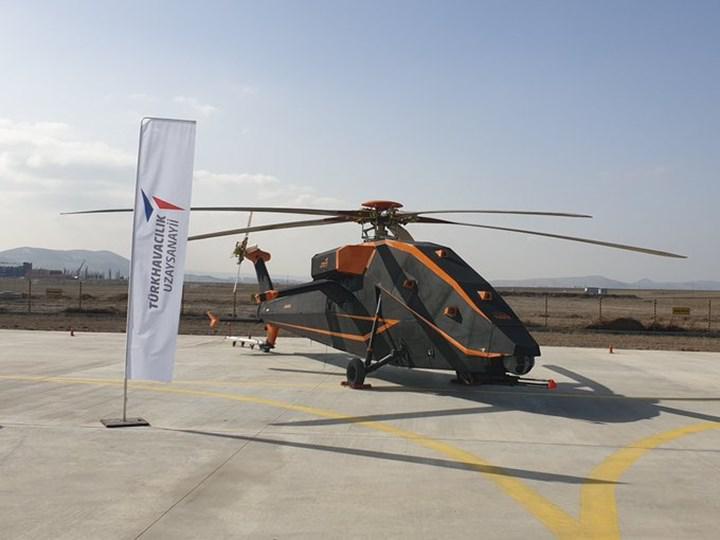 TUSAŞ'ın insansız elektrikli helikopteri T629'un görüntüleri ortaya çıktı